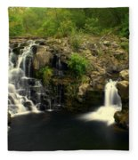 Rainbow Falls  2 Fleece Blanket