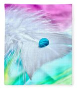 Rainbow Flight Fleece Blanket