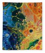 Rainbow Flow Fleece Blanket