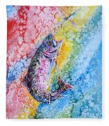Rainbow Hunter Fleece Blanket