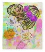 Rainbow Mrs. Fleece Blanket