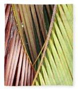 Rainbow Of Palms Gp Fleece Blanket