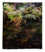 Rainbow Pickle Creek Reflections 6272 H_3 Fleece Blanket