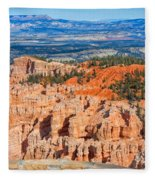 Rainbow Point Panorama Fleece Blanket