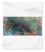 Rainbow Reef Fleece Blanket