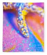 Rainbow Spell And Starfish Fleece Blanket