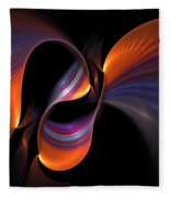 Rainbow Tango Fleece Blanket