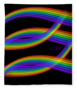 Rainbow Trout Fleece Blanket