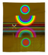 Rainbow Warrior Fleece Blanket