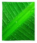 Raindrops ... Fleece Blanket