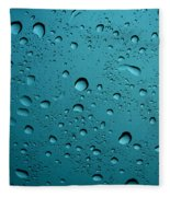Raindrops Fleece Blanket
