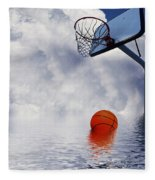 Rained Out Game Fleece Blanket