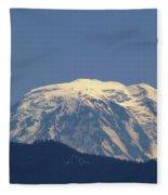Rainer Peeking Over The Hills   Fleece Blanket