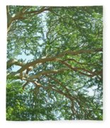 Rainforest Canopy Fleece Blanket