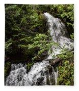 Rainforest Falls Fleece Blanket