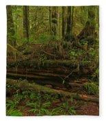 Rainforest Nurse Fleece Blanket