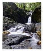 Rainforest Stream Fleece Blanket
