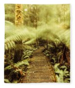 Rainforest Walk Fleece Blanket