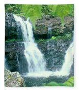 Rainforest Waterfalls Fleece Blanket