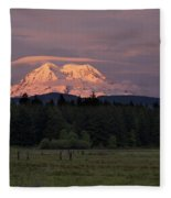Rainier Dusk Fleece Blanket