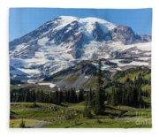 Rainier Mazama Ridge Fleece Blanket
