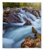 Rainier Runoff Fleece Blanket