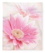 Raining Petals Fleece Blanket
