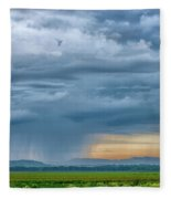 Rainy Days Fleece Blanket