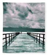 Rainy Days In Summerland 2 Fleece Blanket