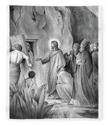 Raising Lazarus Fleece Blanket