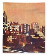 Raleigh Sunrise IIi Fleece Blanket