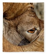 Ram Detail Fleece Blanket