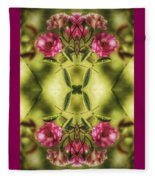 Rambling Rose  Fleece Blanket