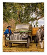 Ranch Hands Fleece Blanket