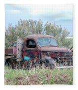 Ranch Truck Fleece Blanket