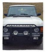 Range Rover Classic Fleece Blanket