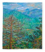Ranges By Arnold Valley Fleece Blanket