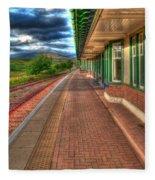 Rannoch Station Platform Fleece Blanket