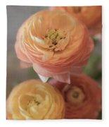 Ranunculus - 6296 Fleece Blanket