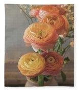 Ranunculus - 6313 Fleece Blanket