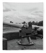 Rapid Fire Gun Fleece Blanket