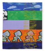 Rappa Batta Fleece Blanket