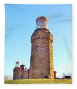 Rapunzels Tower Fleece Blanket