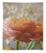 Ranunculus - 6315 Fleece Blanket