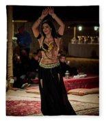 Raqs Sharqi Fleece Blanket