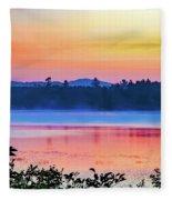 Raquette Sunrise 2 Fleece Blanket
