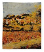Rasteau Vaucluse  Fleece Blanket