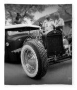 Rat Rod Looker Fleece Blanket