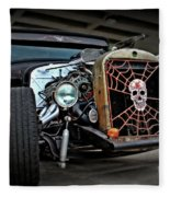 Rat Rod Style Fleece Blanket
