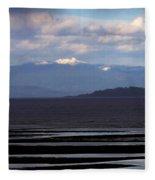 Rathtrevor Beach On Vancouver Island In British Columbia Fleece Blanket